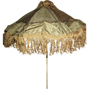 Cyber Monday Elegant French Silk Parasol for Bebe or Large Fashion Doll!