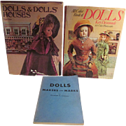 Three BARGAIN Used Doll Reference Books!