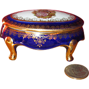 Hand Painted Limoges Trinket Box!