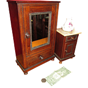 RARE Henri II Doll Armoire and Night Stand with BONUSES!