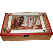 Au Bon Marche Child's Sewing Box from FRANCE Loaded!