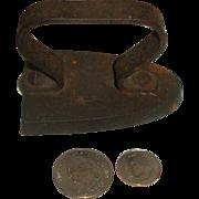 French BLACKSMITH Made Toy Sad Iron!