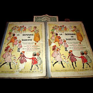 Complete Set La Semaine de Suzette Dec. 1932 - May 1933!