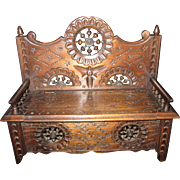 Elaborate Brittany Bench/Chest for Your French Doll!