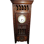 Miniature Brittany Grandfather Clock for Your French Doll!