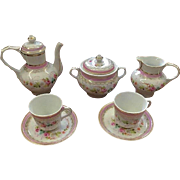 French Porcelaine de Paris Tete-a-Tete Coffee Service for Your Doll!