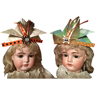 Halloween Party Hat for Your Antique Doll!