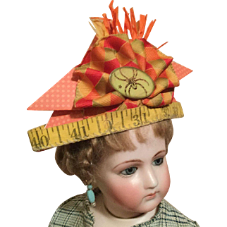 Boo-Tiful Halloween Hat for Your Fashion Doll's Parties!