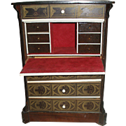 LARGE Napoleon III/Biedermeier Writing Desk for Your Antique Doll!