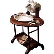 FABULOUS French Wash Stand for Your French Doll!