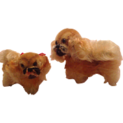 Pekinese Mother and Puppy for Your Doll!
