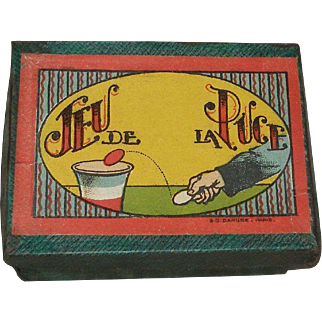 French Tiddly Winks Game for Your Antique Doll!