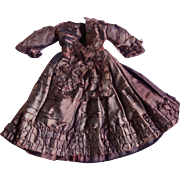 Exquisite Huret Style Gown for Restoration for Your French Fashion Doll!