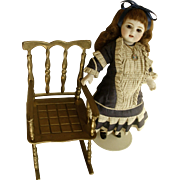 Doll Rocking French Rocking Chair