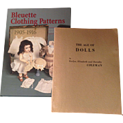 Two Wonderful Doll Collectors' Books at Bargain Price!