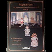 Mignonnette Collector's Book from La Poupee Modele!