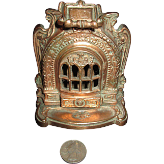 FABULOUS French Parlor Stove for Your Doll Scene!
