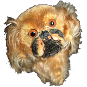 STEIFF Pekinese Pup for Your Antique Doll to Cuddle!