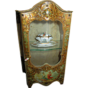 "Magnificent 10 1/4"" Sedan Chair French Vitrine!"