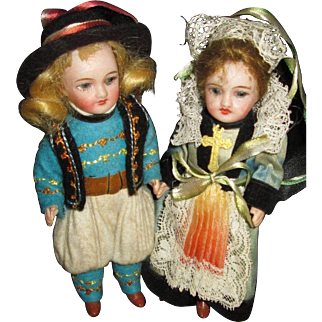Brittany Dolls for Your Brittany Furniture from FRANCE!