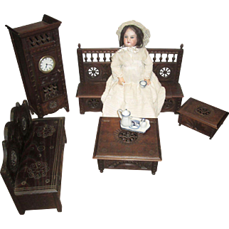 Suite of Brittany French Doll Furniture