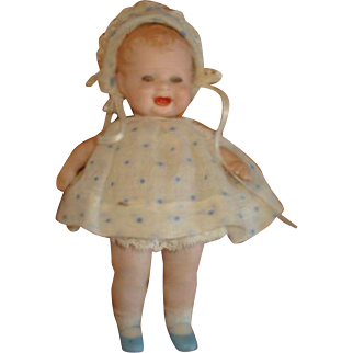 Bonnie Babe ALL-BISQUE Doll by Georgene Averill