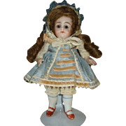 "Adorable 7"" All-Bisque KESTNER Doll!"