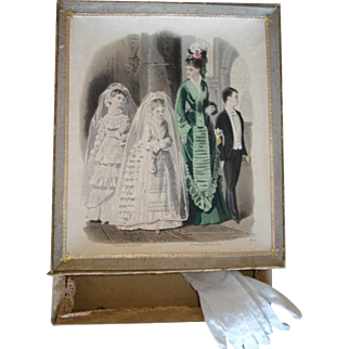Rare First Communion/Wedding Set in Original Box!