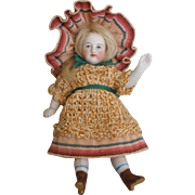 Adorable French All Bisque Doll ALL-ORIGINAL!