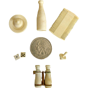 French Bone Accessories for Your All Bisque, French Fashion or Mignonnette Doll!