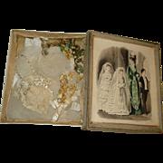 French First Communion Set in Original Presentation Box!