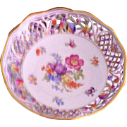 Schumann-Dresden Compote with Reticulated Rim