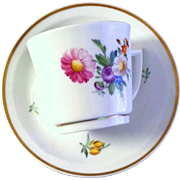 Dainty Royal Copenhagen Demitasse in Floral Pattern