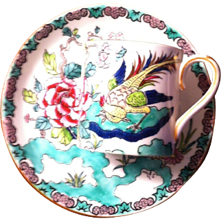 Crown Staffordshire Demitasse in the Roc Bird Pattern