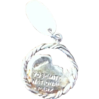 Sterling  Silver  Charm  of Yosemite