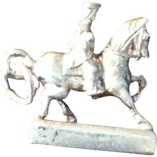 Solid Silver Charm of Paul Revere