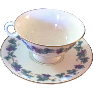 Theodore Haviland (New York) Arbor Pattern Cup/Saucer