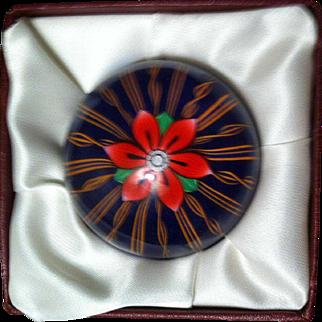 Perthshire Ltd. Ed. Medium Flower withSpokes Weight