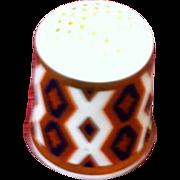 Royal Crown Derby Porcelain Thimble