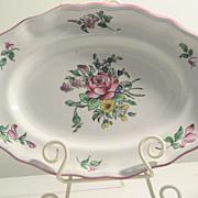 Vintage K&G Old Strasbourg Luneville, France, small Platter