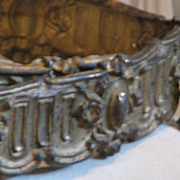 RARE*  19th Century French Gilt Tin Trim Edging   6ft.