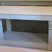 French Antique painted console table