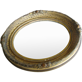 Antique Baroque style Gilded Mirror