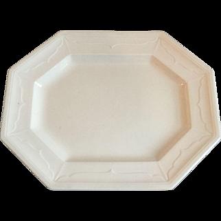 "Antique Large Ironstone Platter18"""