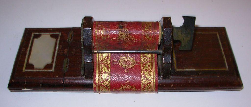 Antique Angells Patent File Bill Press Victorian