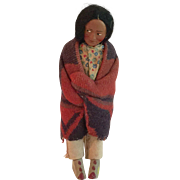 Old Skookum Indian Doll