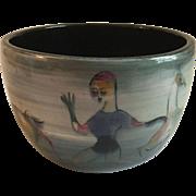 Polia Pillin Art Pottery Vase Pot Mid Century Modern Modernist