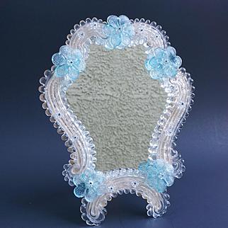 Vintage Venetian Glass Table Mirror