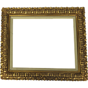 Vintage Gilt Frame with Acanthus leaf