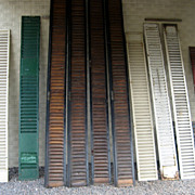 19th Century Window Shutters